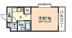 ブルグリンコート梅田北[8階]の間取り