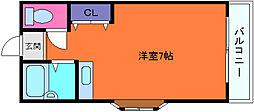 メゾンきら[2階]の間取り