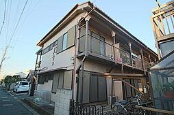 千葉県市川市大洲2丁目の賃貸アパートの外観