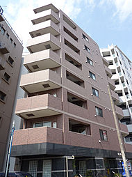 東京都渋谷区初台2丁目の賃貸マンションの外観