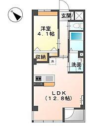 KMG[3階]の間取り