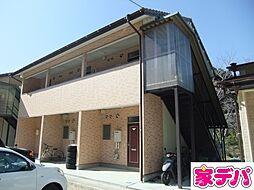 愛知県豊田市下仁木町諸屋の賃貸アパートの外観