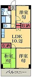 京成本線 京成臼井駅 バス11分 江原台2丁目下車 徒歩4分の賃貸アパート 1階3LDKの間取り