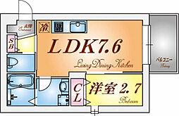 グルーブメゾン須磨東町[2階]の間取り
