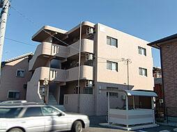 栃木県宇都宮市鶴田2丁目の賃貸マンションの外観