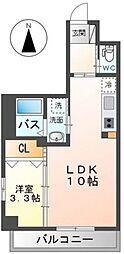 Grandeur Hakata~グランドゥールハカタ~ 4階1LDKの間取り