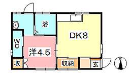 [一戸建] 岡山県倉敷市二子 の賃貸【/】の間取り
