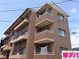 愛知県岡崎市宇頭町字的場の賃貸マンションの外観