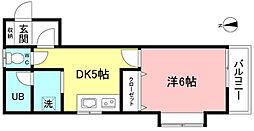 メゾンロヒタカーレ[1階]の間取り