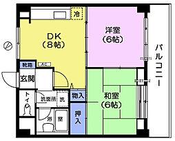 VILLA MEJIRO AVENUE[6階]の間取り