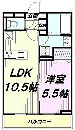 JR青梅線 牛浜駅 徒歩9分の賃貸アパート