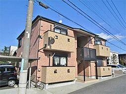 神奈川県相模原市緑区二本松1丁目の賃貸アパートの外観