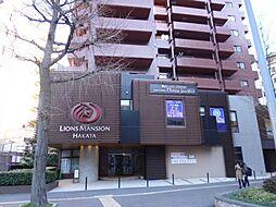 ライオンズマンション博多[413号室]の外観