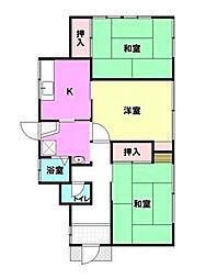 [一戸建] 神奈川県茅ヶ崎市松林2丁目 の賃貸【/】の間取り