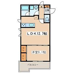 Casa de Lino[1階]の間取り