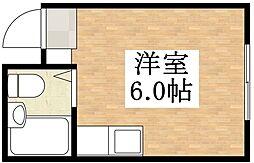 コーポ神田I・II[4階]の間取り