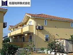愛知県豊橋市牟呂町字百間の賃貸アパートの外観