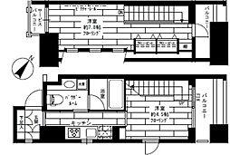 ステージグランデ新川[12階]の間取り