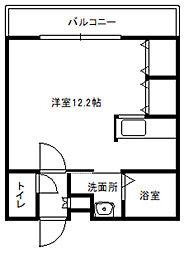 北海道札幌市白石区本郷通5丁目南の賃貸マンションの間取り