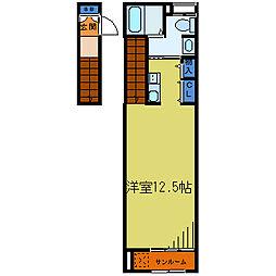 レメゾンA[2階]の間取り
