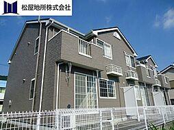 愛知県豊橋市大脇町字大脇ノ谷の賃貸アパートの外観