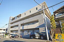 千葉県千葉市花見川区検見川町3丁目の賃貸マンションの外観