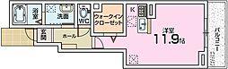 フェリーチェ松美ヶ丘[1階]の間取り
