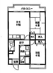 エミネンス湘南[1階]の間取り