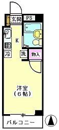 メゾン・エヌ[305号室]の間取り