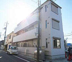 東京都江戸川区松本2丁目の賃貸マンションの外観