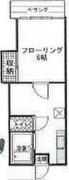 プラザイン脚折[2階]の間取り