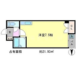 TAISEI都[3階]の間取り
