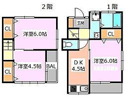 [一戸建] 東京都北区豊島7丁目 の賃貸【東京都 / 北区】の間取り