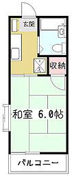 ファミーユ・サン[2階]の間取り