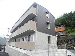 長崎県長崎市西山3丁目の賃貸アパートの外観