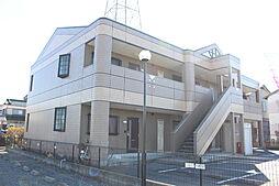 滋賀県野洲市永原の賃貸アパートの外観