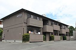 愛知県豊橋市大岩町字北山の賃貸アパートの外観