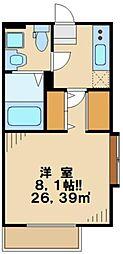アルス[3階]の間取り