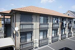 栃木県小山市花垣町1の賃貸アパートの外観