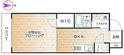 コントラーダ・ウノ[2階]の間取り