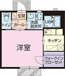 愛知県刈谷市一ツ木町7丁目の賃貸アパートの間取り
