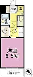 フォルトゥーナ箱崎宮前[3020号室]の間取り