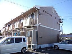 岡山県倉敷市亀島2丁目の賃貸アパートの外観