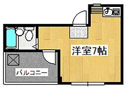 アーバン関沢[3階]の間取り