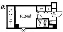 三越青葉台[2階]の間取り