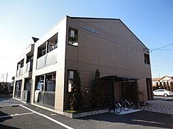 栃木県栃木市野中町の賃貸アパートの外観