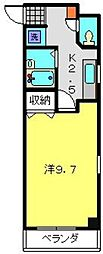 神奈川県川崎市中原区新城5丁目の賃貸マンションの間取り