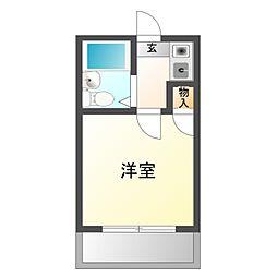 東岡崎第7レジデンス[2階]の間取り