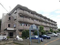 埼玉県狭山市狭山台4丁目の賃貸マンションの外観