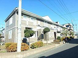 埼玉県さいたま市北区本郷町の賃貸アパートの外観